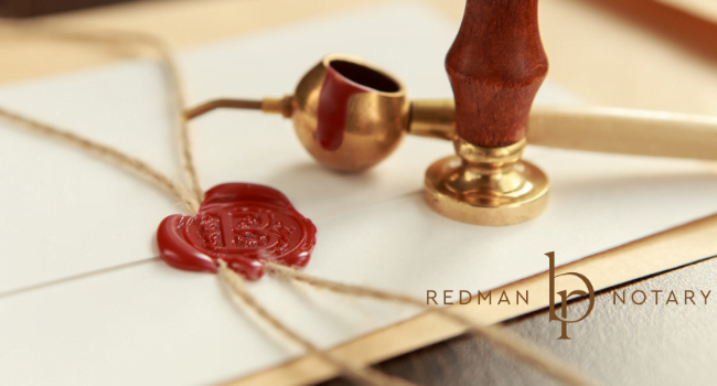 Welcome to Redman Notary